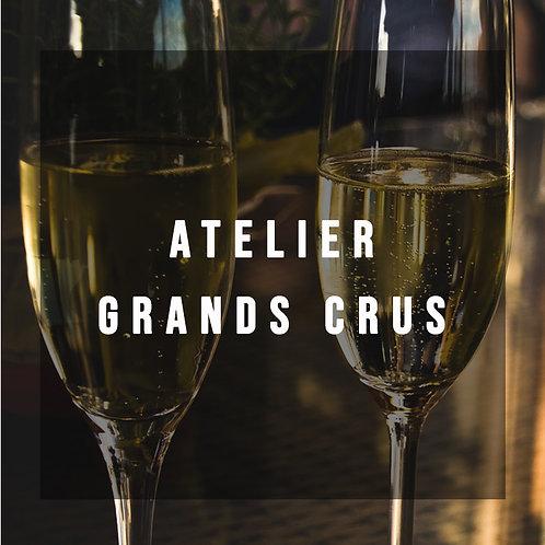 """Atelier Grand Cru """"Champagne"""" Jeudi 5 Décembre à 19h"""