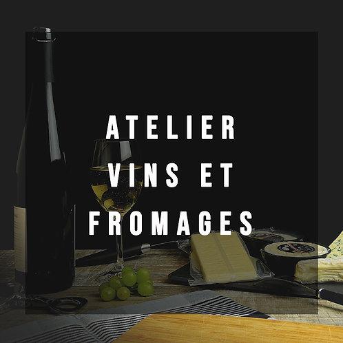"""Atelier Vin et Fromage """"Italien """" du Jeudi 21 Novembre à 19h"""