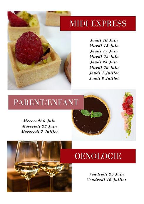 Rouge Voyage Famille Bulletin d'informat