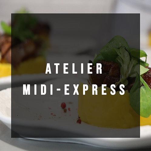 Atelier Midi-Express du Mardi 26 Novembre à 12h15