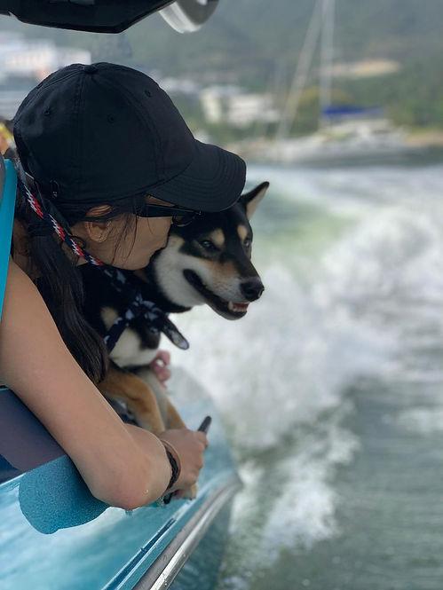 Wakesurfing with Best Friend