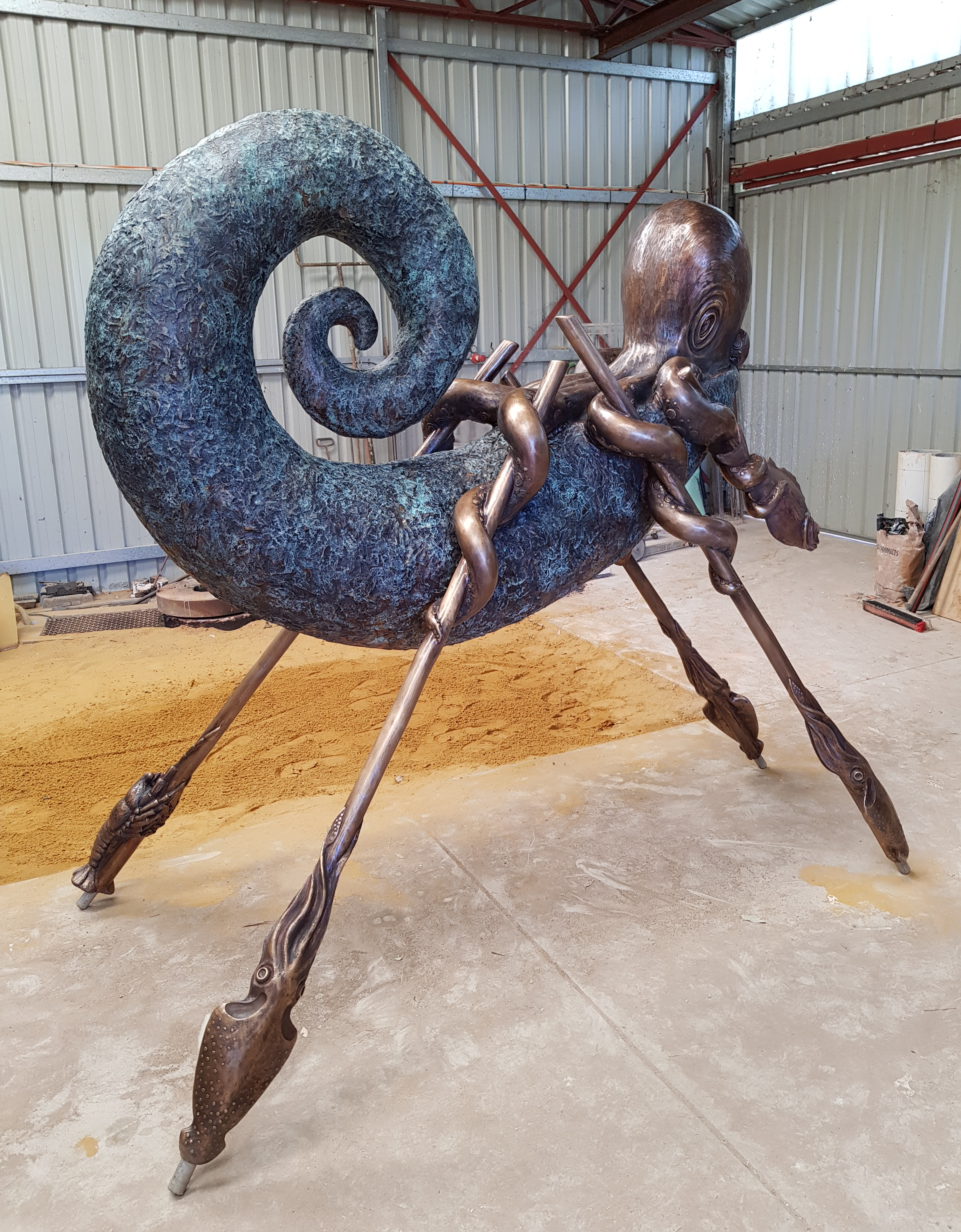 The Boatman Sculpture Andrew Kay 01
