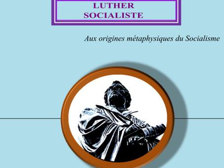 Luther socialiste, Jean Jaurès, Parution août 2020