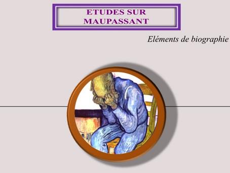 Etudes sur Maupassant, parution du 20 juillet 2021