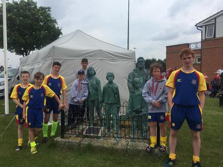 Harrogate Boys represent North East and UK Lions