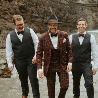 Wedding suits are our specialty!