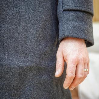 Cashmere winter topcoat