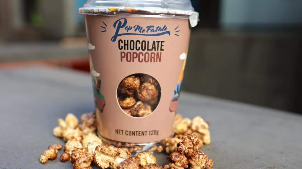Chocolate Popcorn 120g X 12