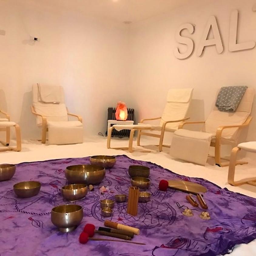 Postponed: Salt Room Singing Bowl Healing at Private Sea, Mornington