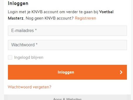 Het KNVB account