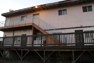 Casa Josué's backyard