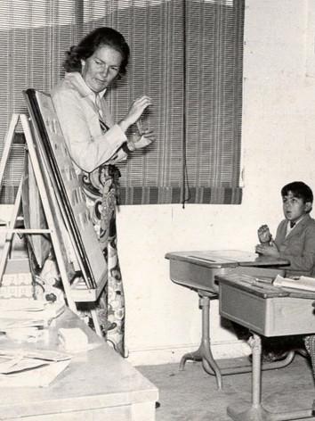 Margaret Everett teaching at RSM