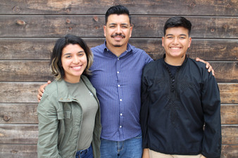 Pastor Carlos & his children