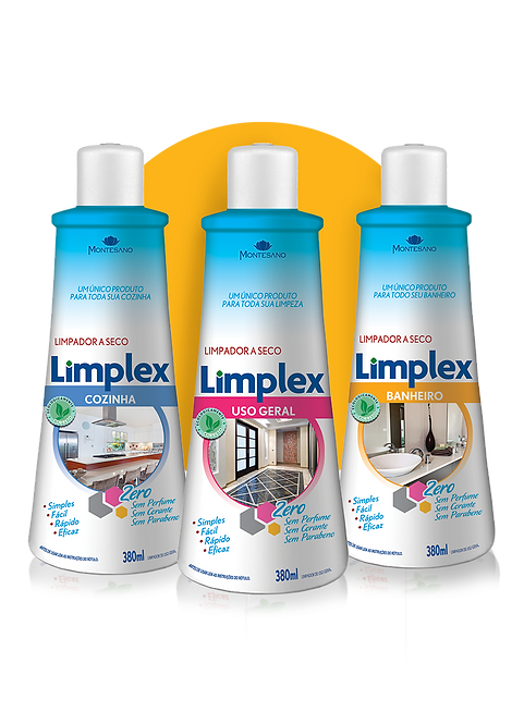 Caixa Variados Limplex 380ml - 12 unidades