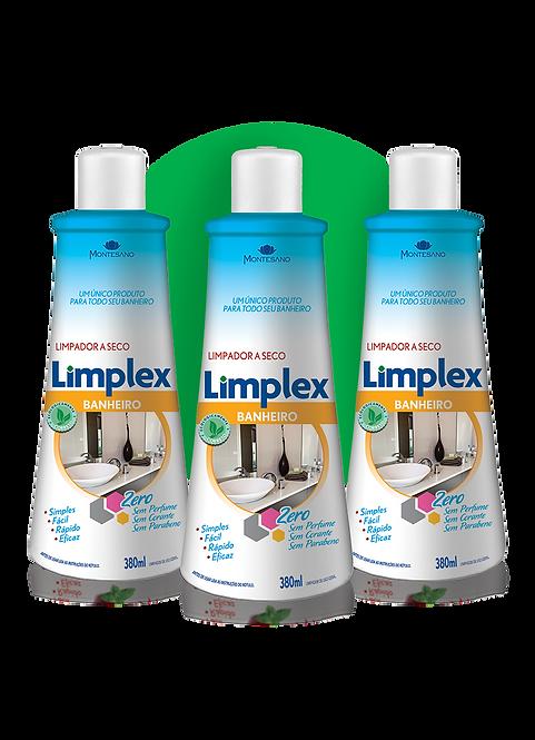 Caixa Limplex Banheiro 380ml - 12 unidades