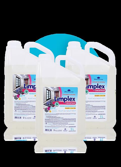 Caixa Limplex Concentrado Uso Geral 5L - 3 unidades