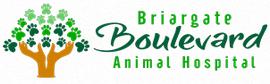Briargate Boulvard Animal Hospital Logo.