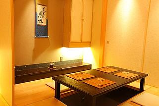 札幌すすきの 割烹 いそ田 個室でプライベート空間