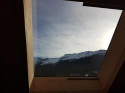 View skylight second floor