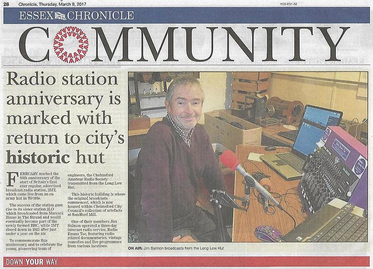 Essex Chronicle 9 March 2017.JPG