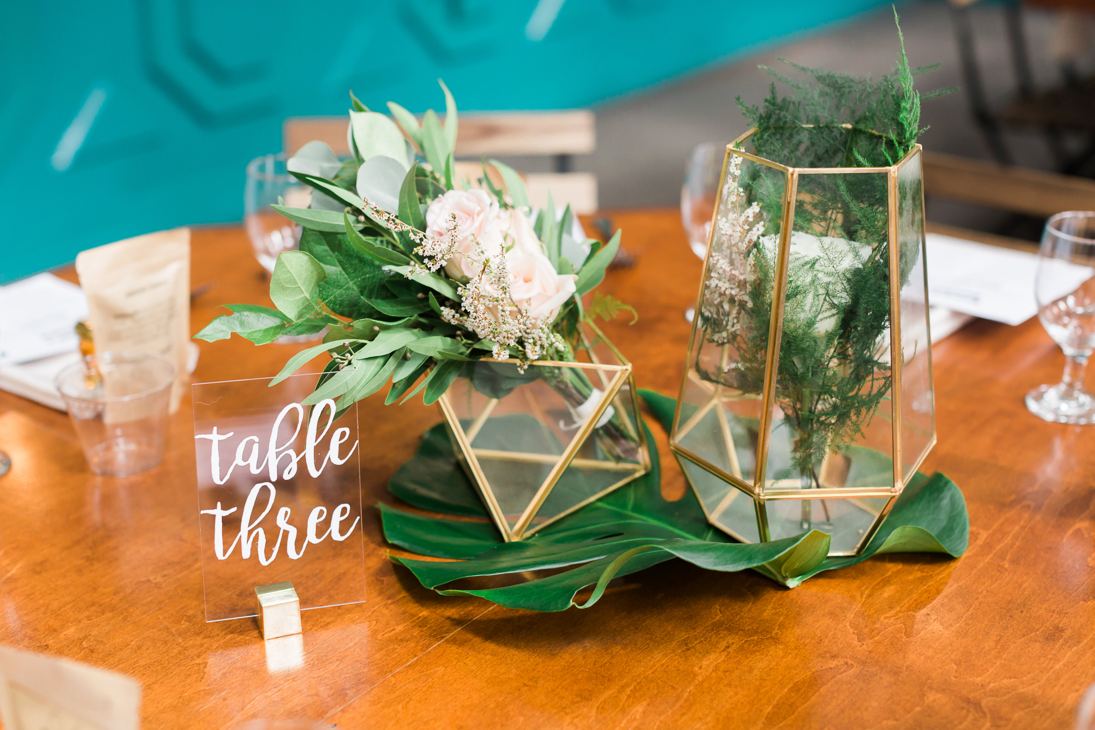 Fig House - Table Details - Boho Wedding