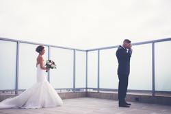 shade hotel wedding first look