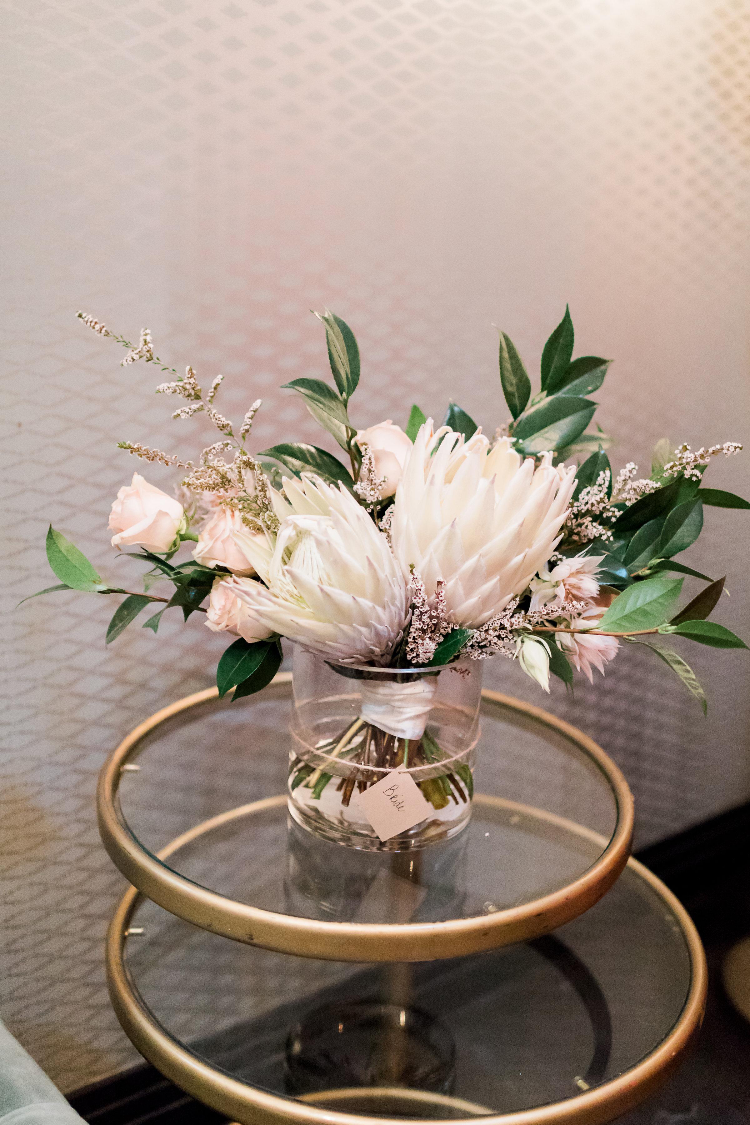 Fig House Wedding - Boho Bouquet