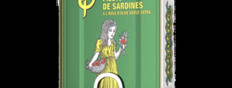 Berthe - Filets de sardines à l'huile d'olive extra vierge