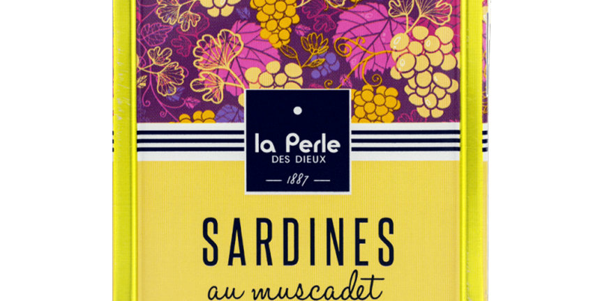 Sardines marinade au Muscadet