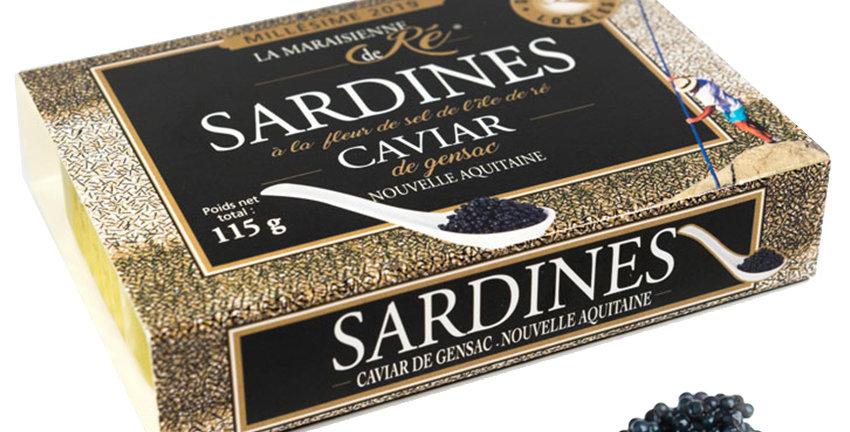 Sardines Prestige Caviar 2019