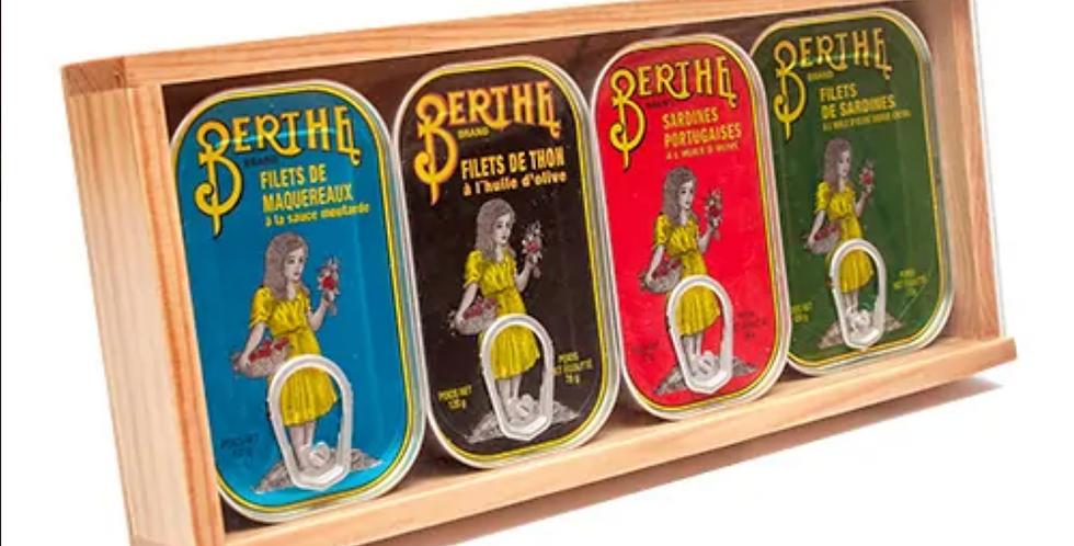 Berthe - Coffret bois collection