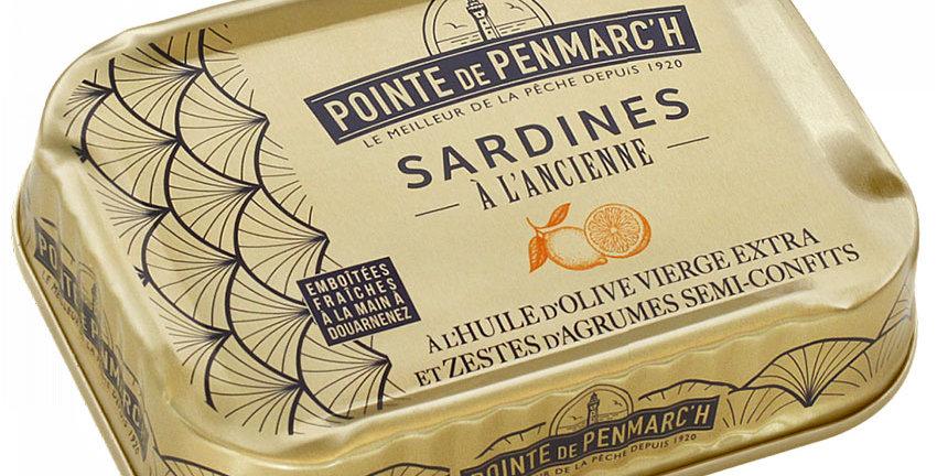 Sardines à l'ancienne à l'huile d'olive et zestes d'Agrumes confits
