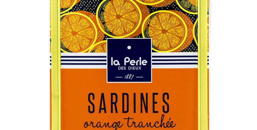 Sardines oranges tranchées et huile de Colza