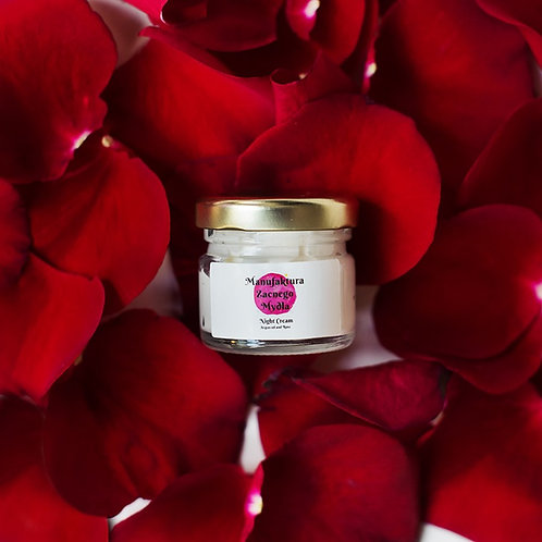 Night Cream Argan Oil & Rose