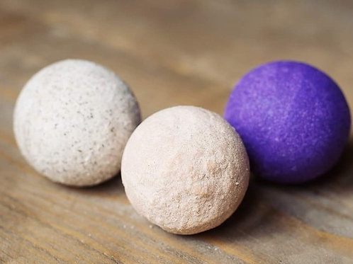 Set of Three Bath Bombs