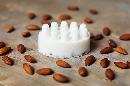 Shea Butter Peeling and Massage Soap Bar