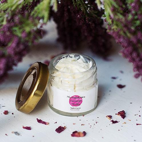 Night Cream Argan Oil & Rose