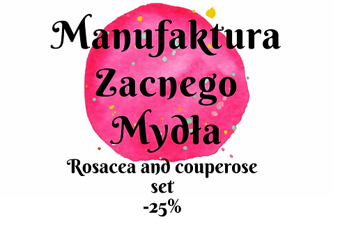 Rosacea and couperose Skin Set