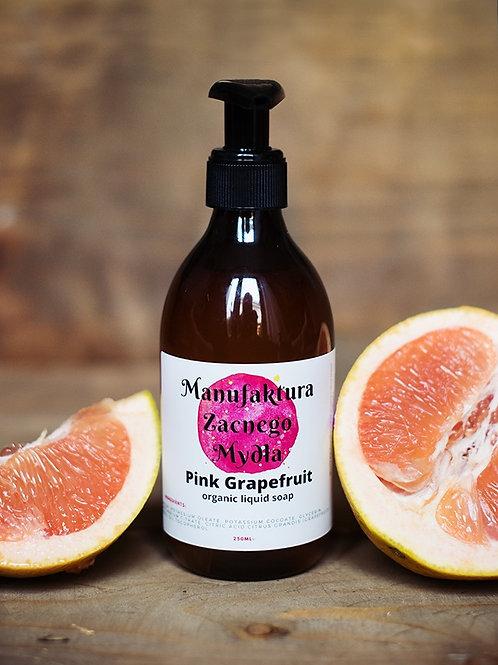 Organic Liquid PINK GRAPEFRUIT Castile Soap