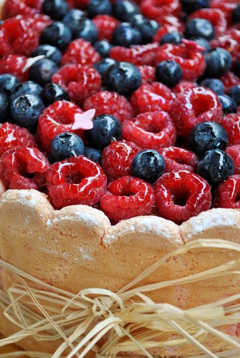 CHARLOTTE VANILLE & FRUITS ROUGES *