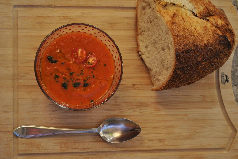 soupe a la tomate yotam ottolenghi