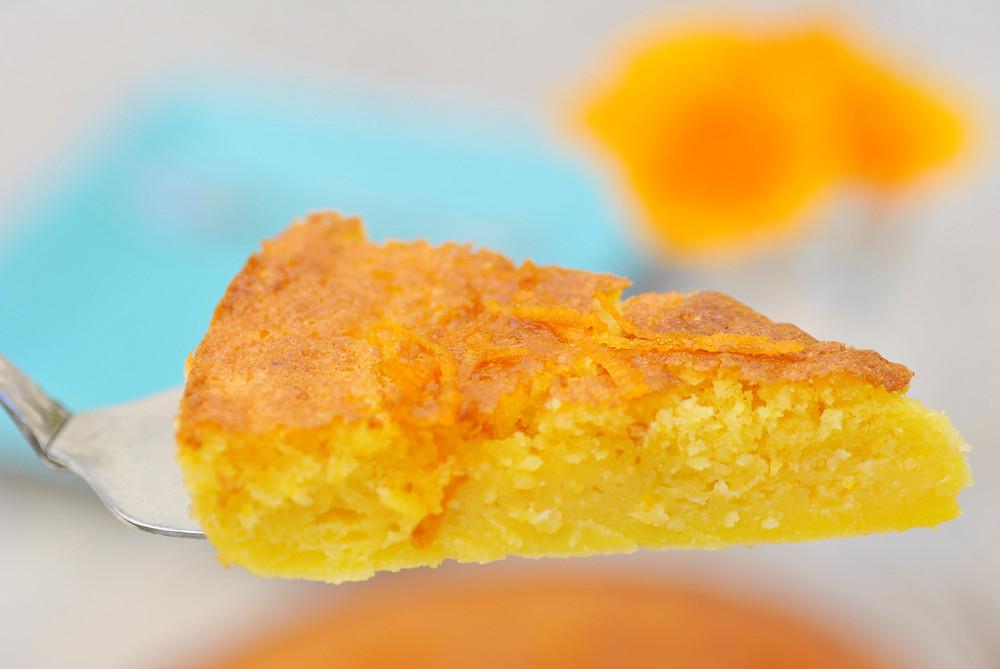 Cake orange citron moelleux