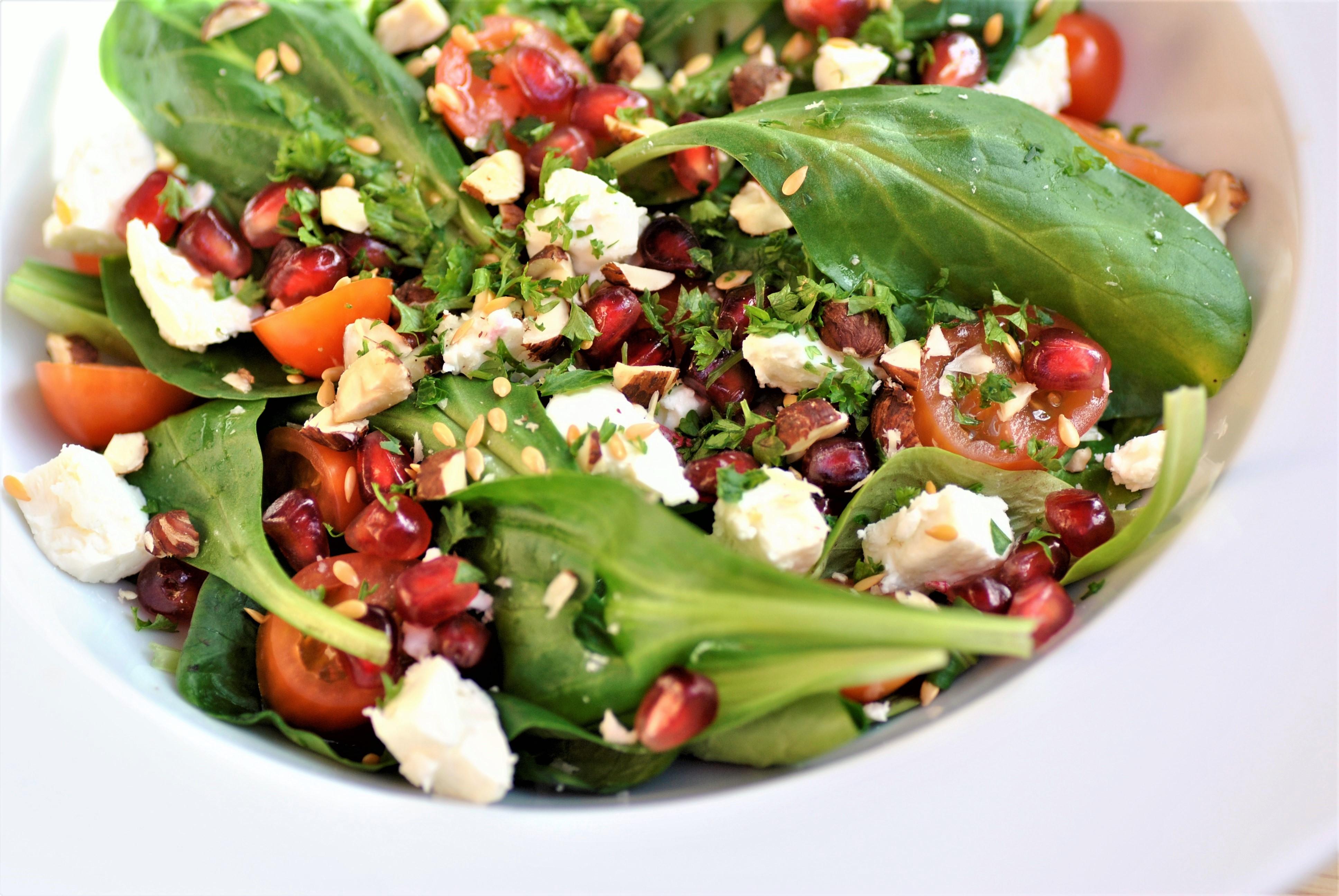 Salade healthy grenade mache