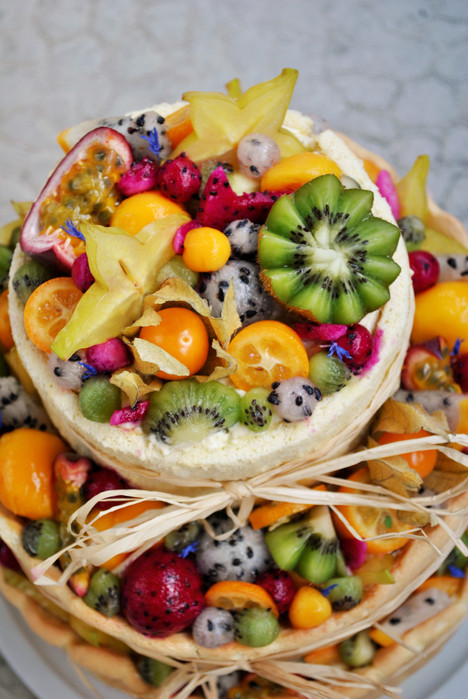 CHARLOTTE FRUITS EXOTIQUES & VANILLE *