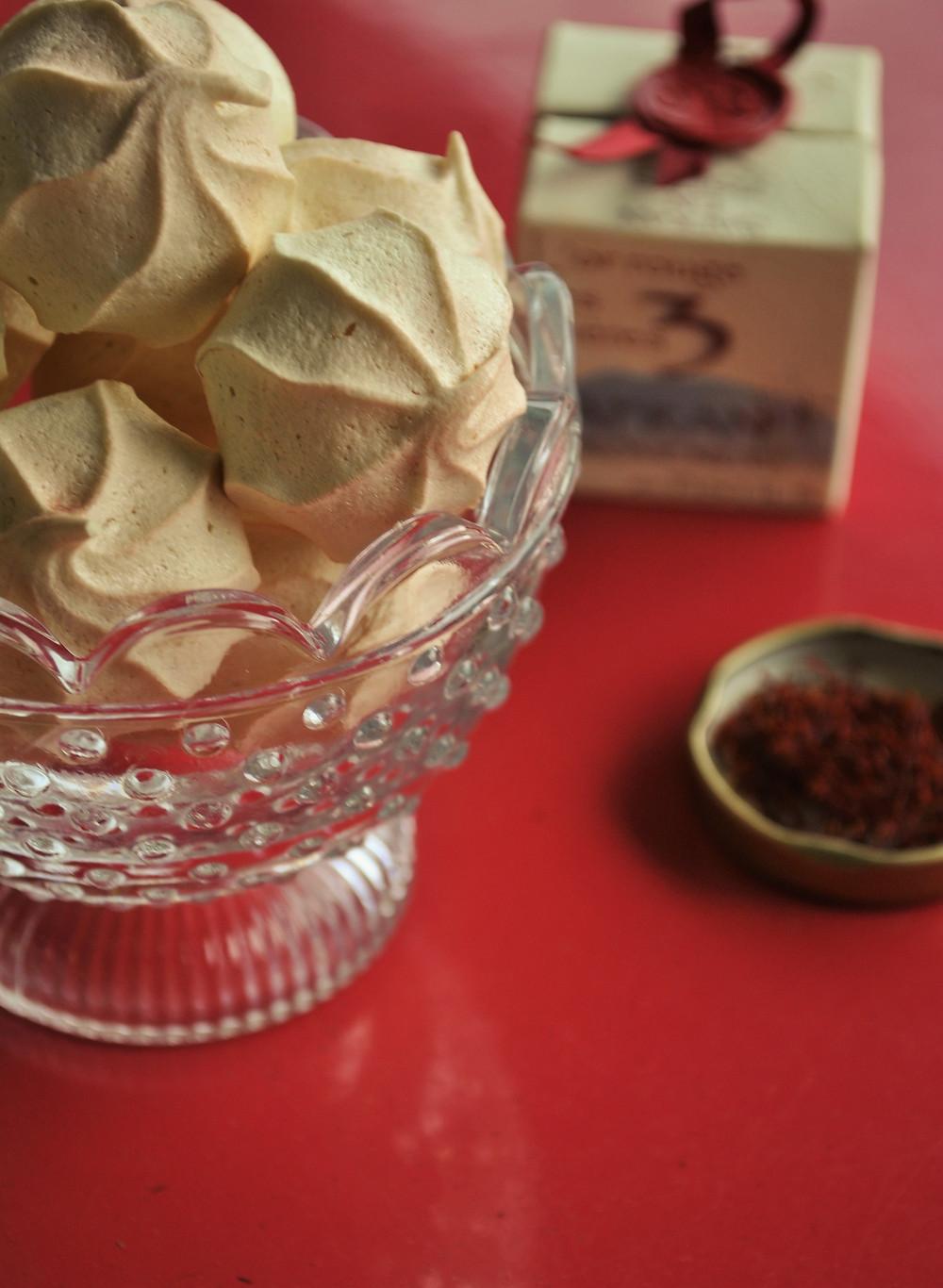 meringues safran