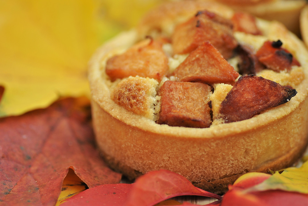 Tarte coings automne