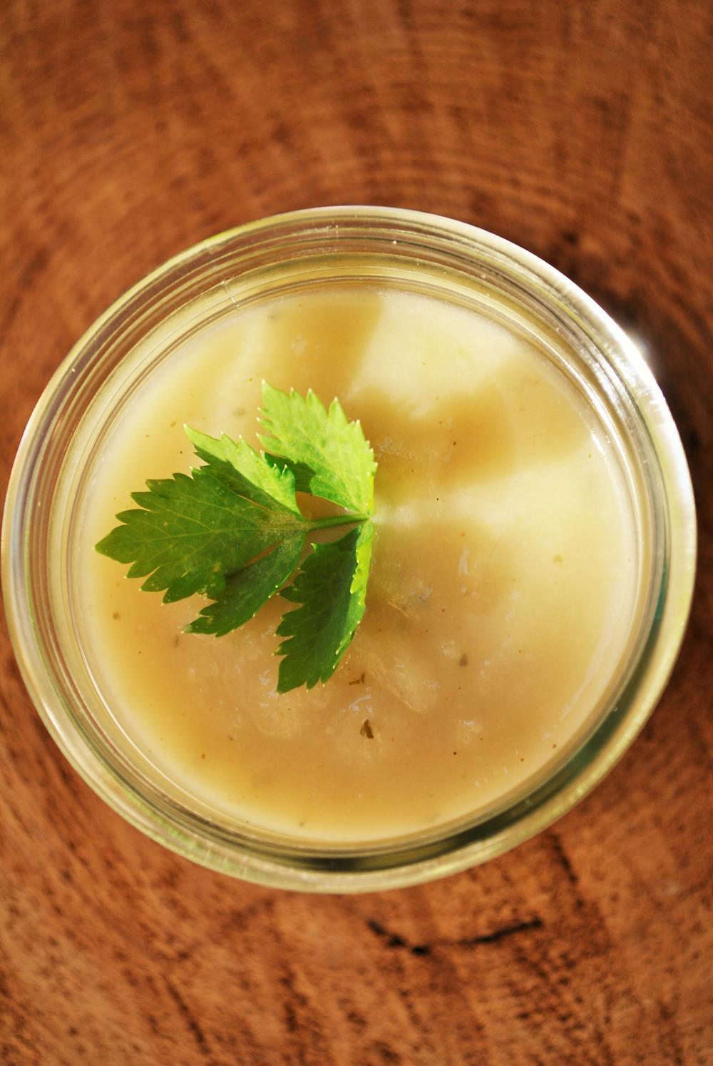 Soupe Velouté Céleri Rave Pomme de terre