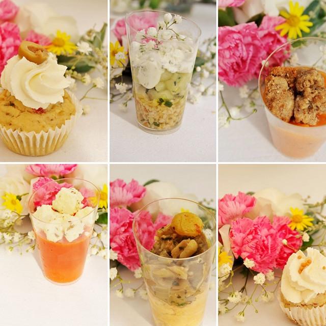 Buffet Mariage Verrines Cupcakes