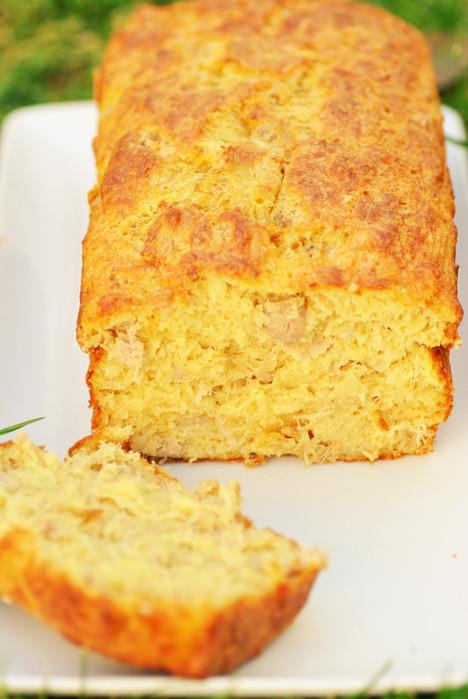 LE CAKE FONDANT AU THON DE MA MAMAN *