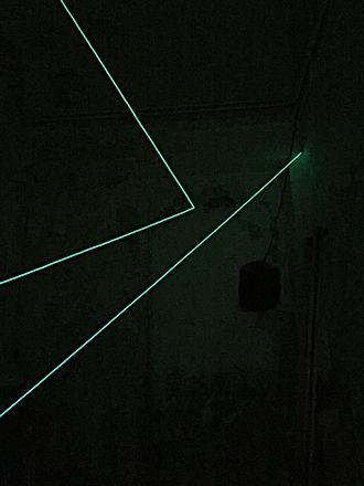Light Art   Gonzalo Bascuñan   Gonzalo Bascunan Fabbrica del Vapore Tempio del futuro perduto Akropolis